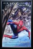 The Amazing Spiderman 2 Signed Movie Poster