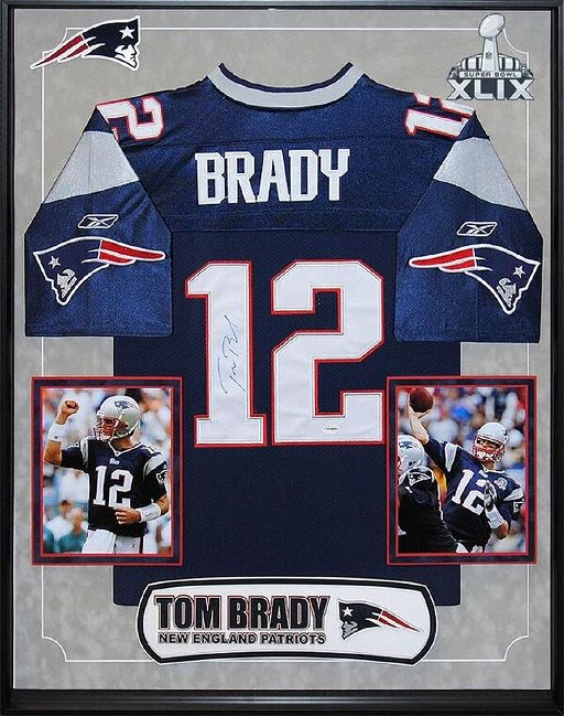 on sale 75a70 430b0 Tom Brady Signed Patriots Jersey