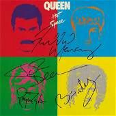 Queen Hot Space Signed Album