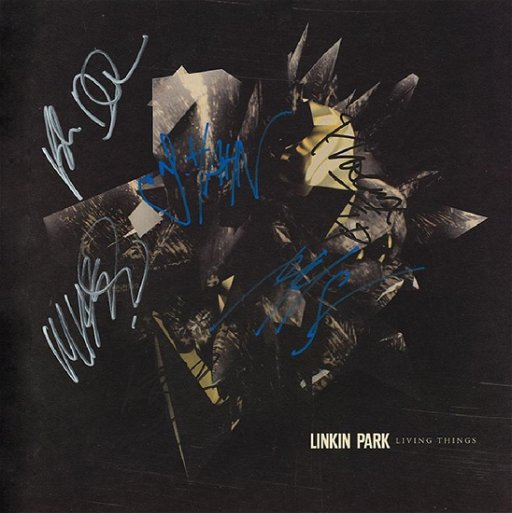 Linkin Park Signed Living Things Album