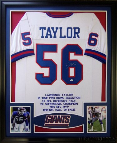 huge selection of b5682 01164 Lawrence Taylor Signed Giants Jersey