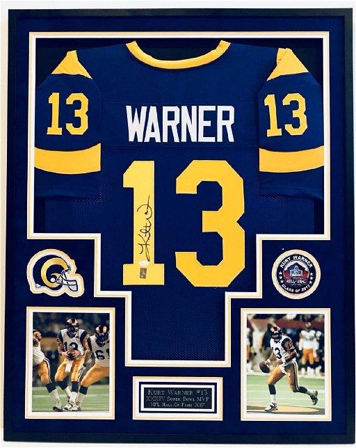 release date: 98795 99486 Kurt Warner Signed Rams Jersey - Feb 08, 2019   High End ...