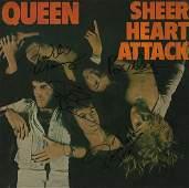 Queen Signed Sheer Heart Attack Album
