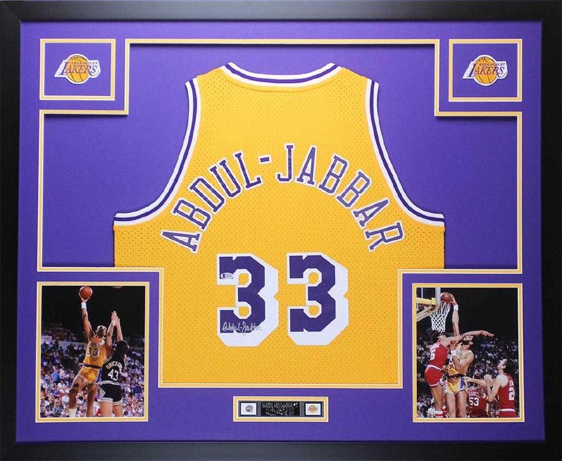 021599c948f Kareem Abdul-Jabbar Signed Los Angeles Lakers Jersey