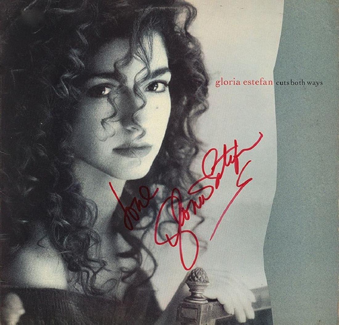"Gloria Estefan ""Cuts Both Ways"" Signed Album"