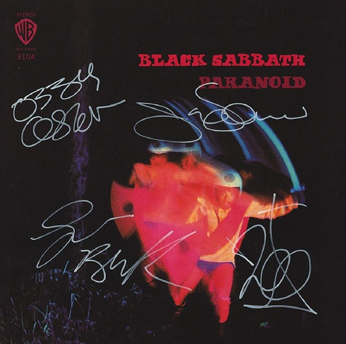 "Black Sabbath ""Paranoid"" Signed Album"