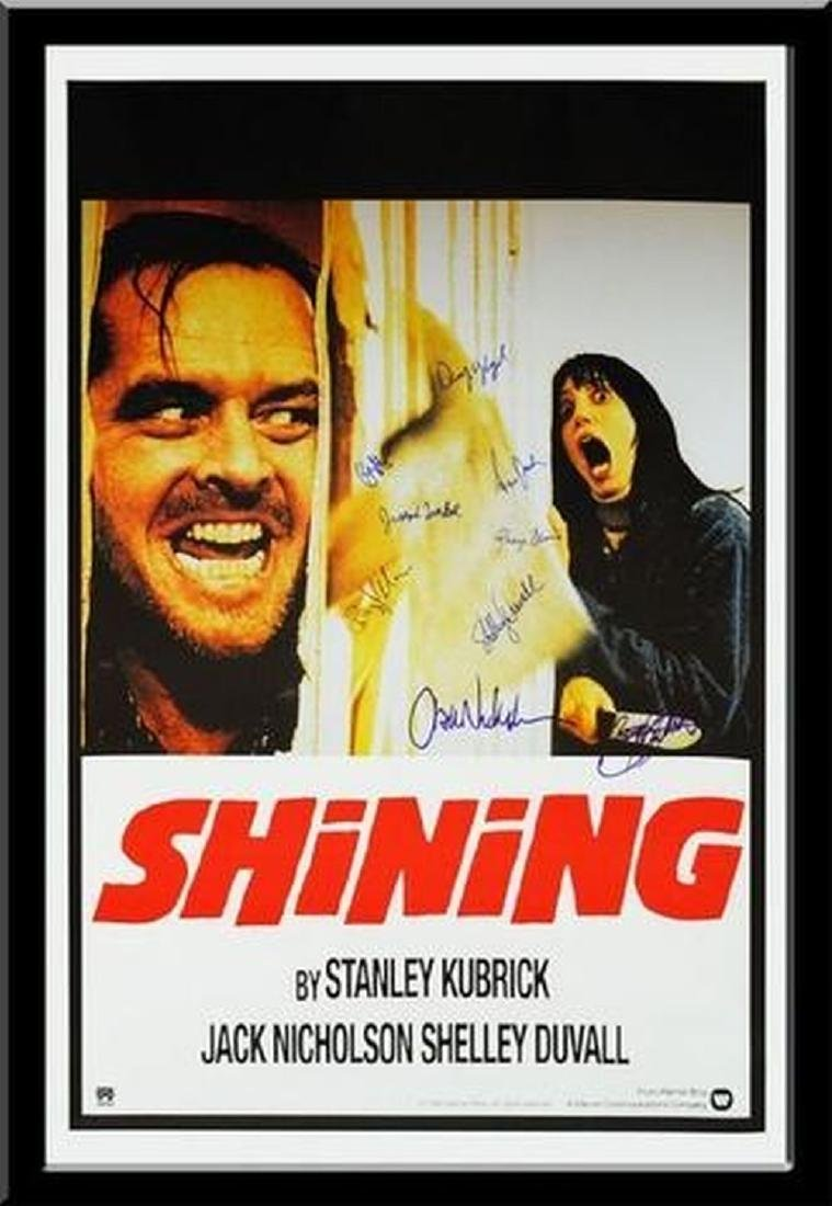 The Shining - Signed Movie Poster