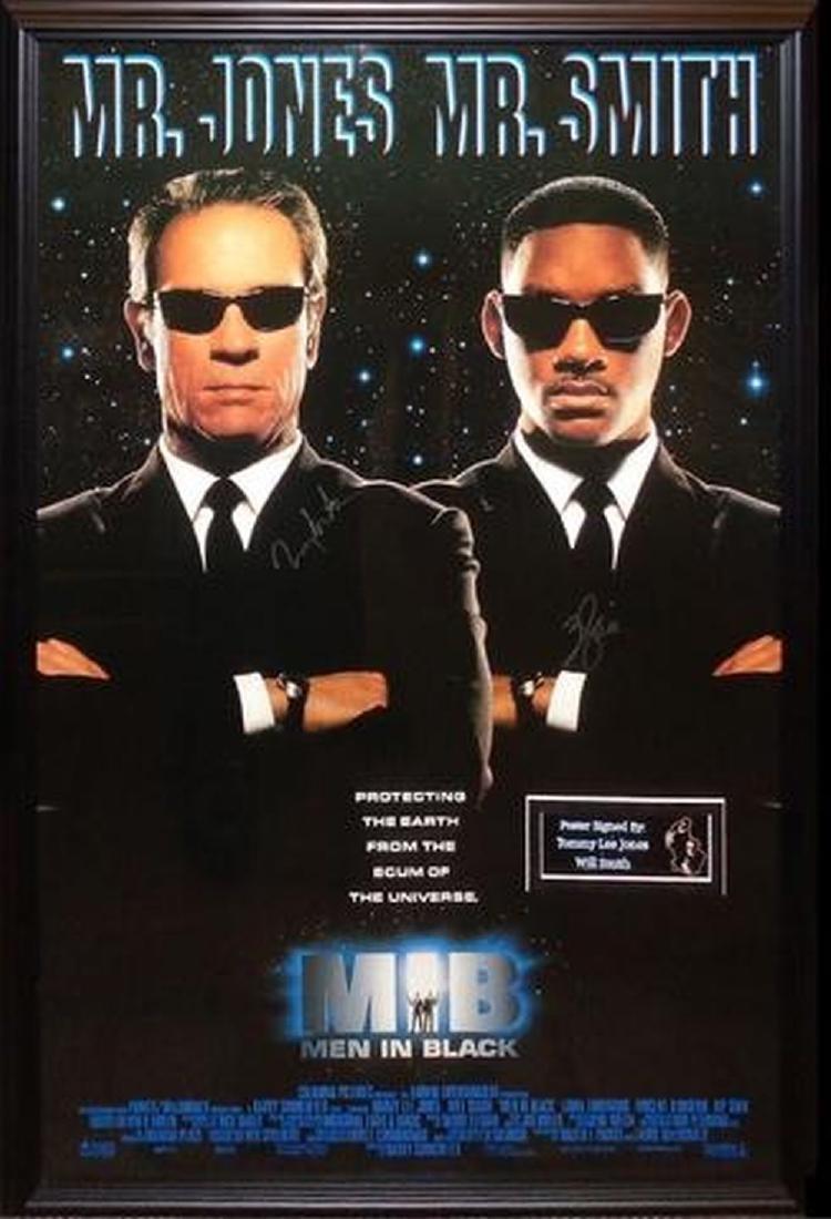 Men in Black - Signed Movie Poster