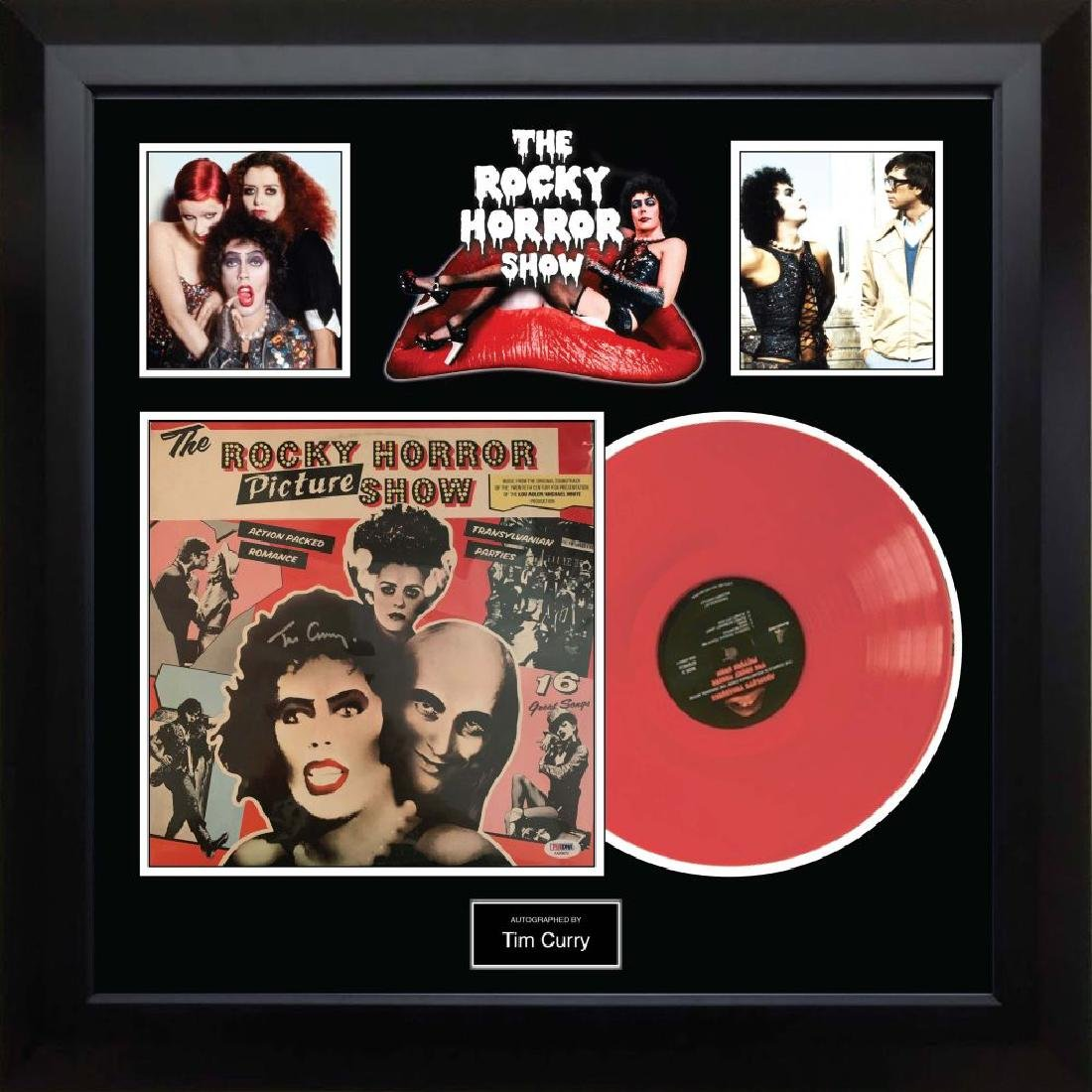 "Signed ""Rocky Horror Picture Show"" Album"