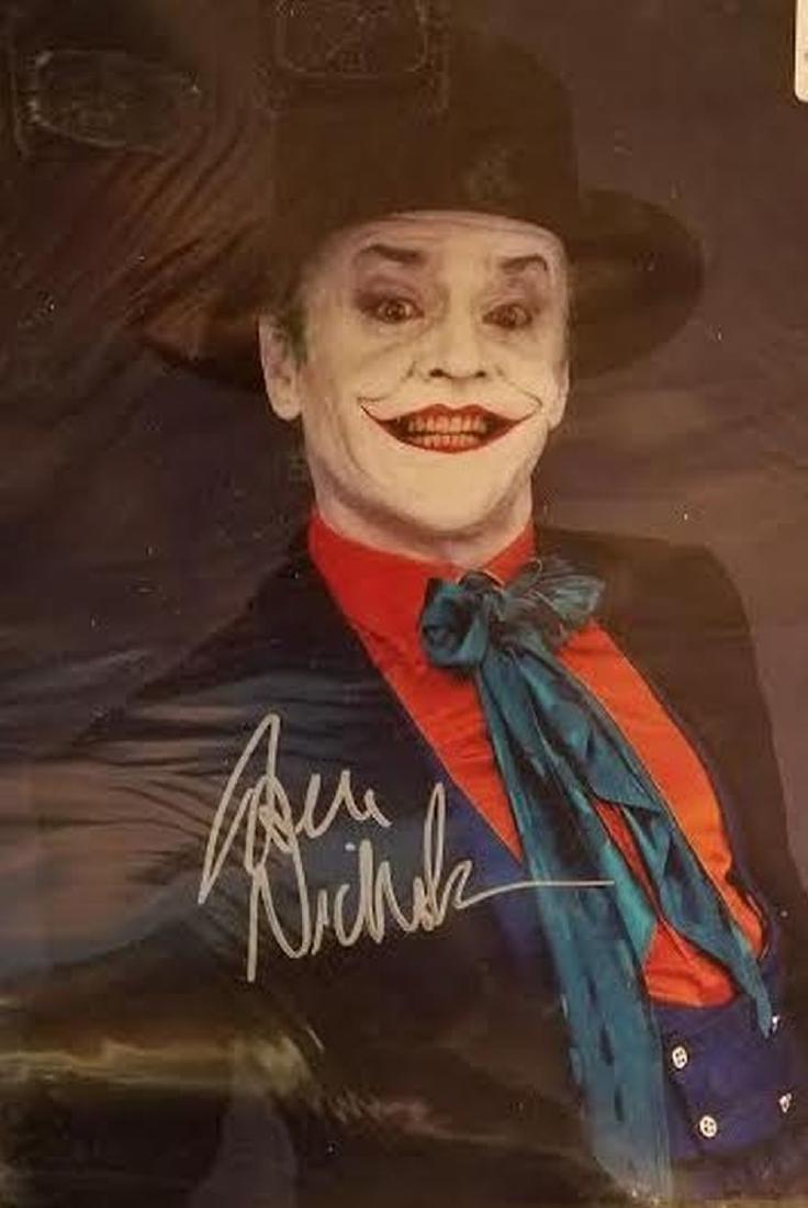 Jack Nicholson Signed Photo