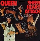 Queen Signed Heart Attack Album