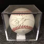 Barack Obama Signed Rawlings Baseball