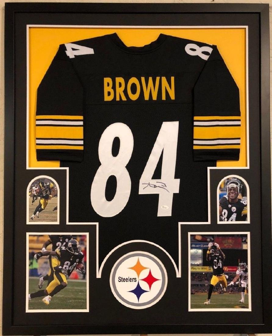 wholesale dealer 44b38 ce004 Antonio Brown Signed Steelers Jersey - Feb 22, 2019   High ...