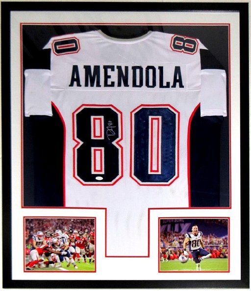 check out 2de7f be31d Danny Amendola Signed Patriots Jersey - Feb 15, 2019 | High ...