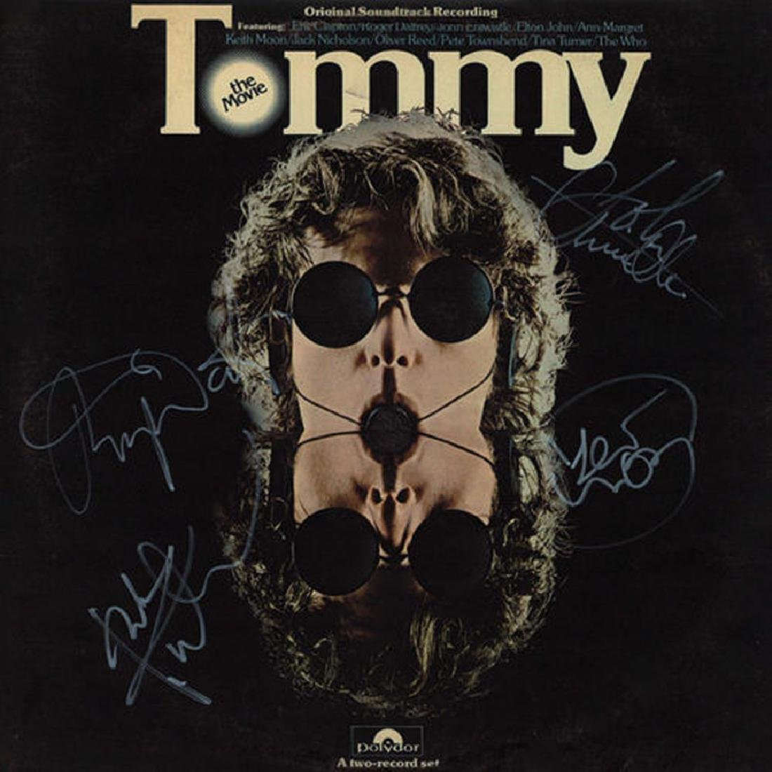 "The Who ""Tommy"" Signed Soundtrack Album"