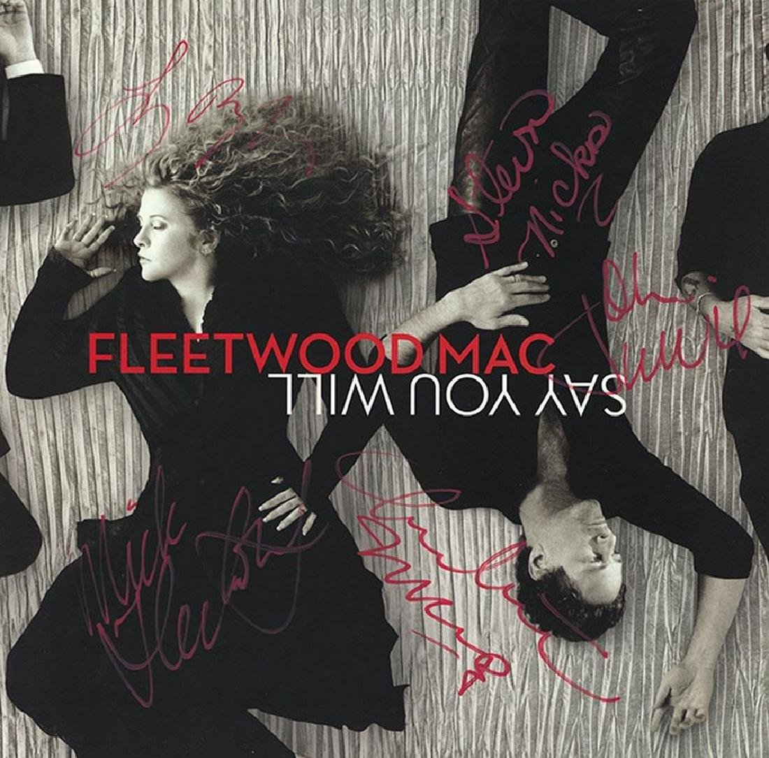 "Fleetwood Mac ""Say You Will"" Signed Album"