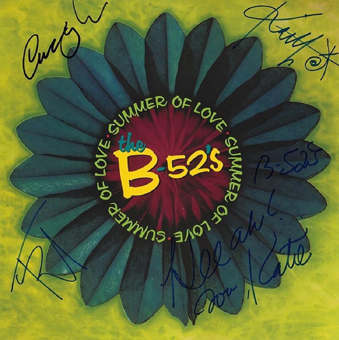 "B52s ""Summer Of Love"" Signed Album"