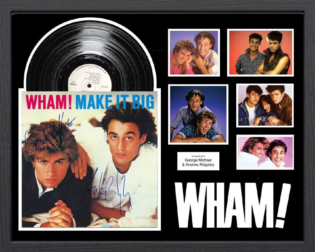 """Wham """"Make it Big"""" Signed Album"""
