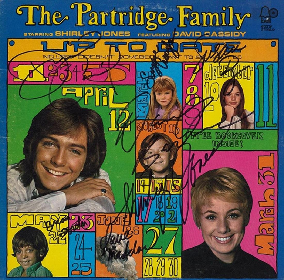 "The Partridge Family ""Up To Date"" Signed Album"