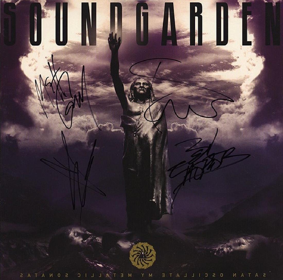 "Soundgarden ""Satan Oscillate My Metallic Sonatas"""