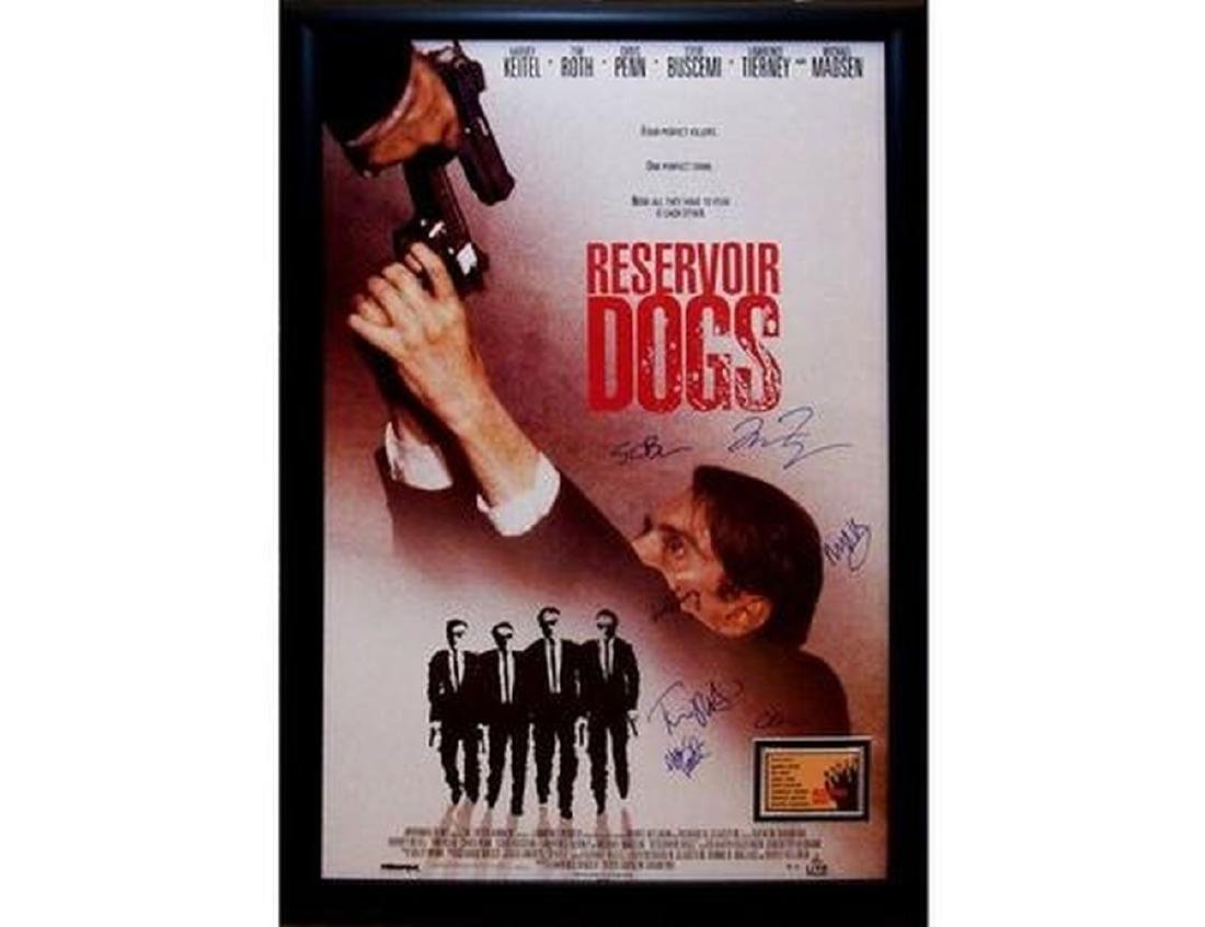 Reservoir Dogs - Signed Movie Poster
