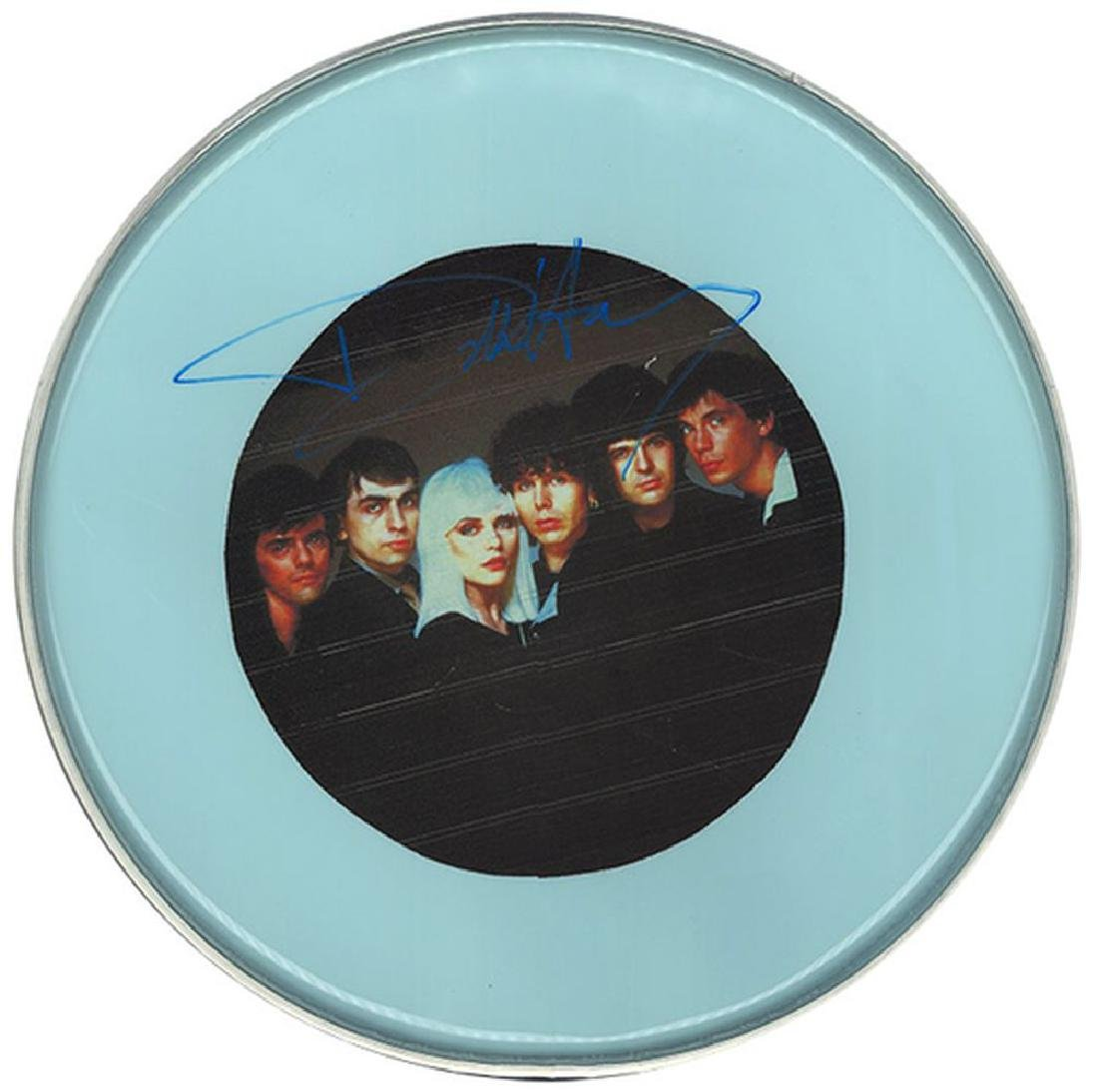 Blondie Signed Drum Head