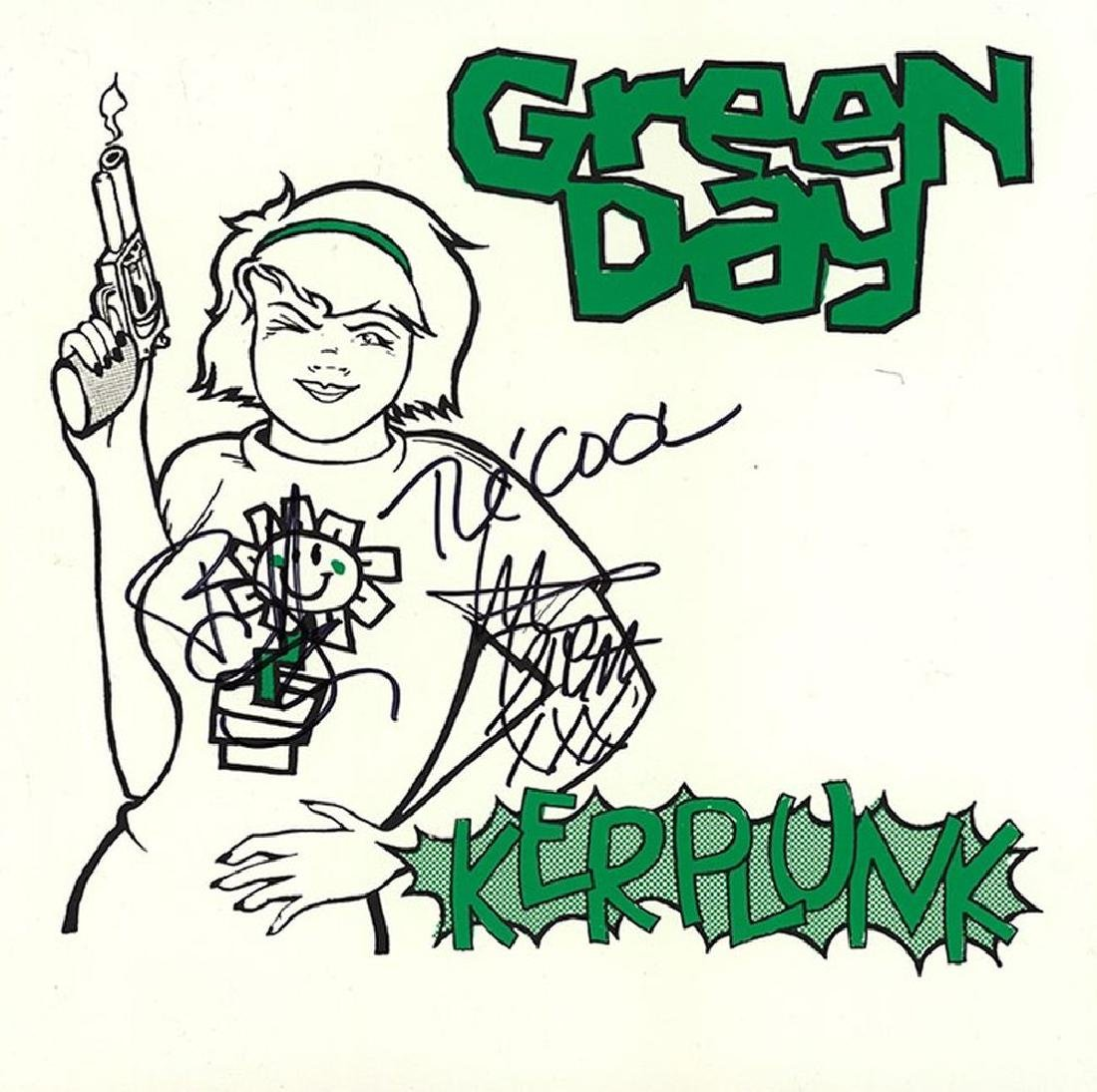 "Green Day ""Kerplunk"" Signed Album"