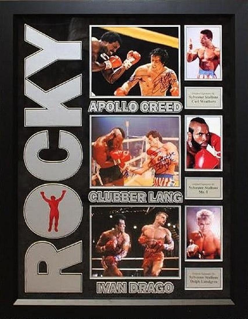 Rocky Villains Poster