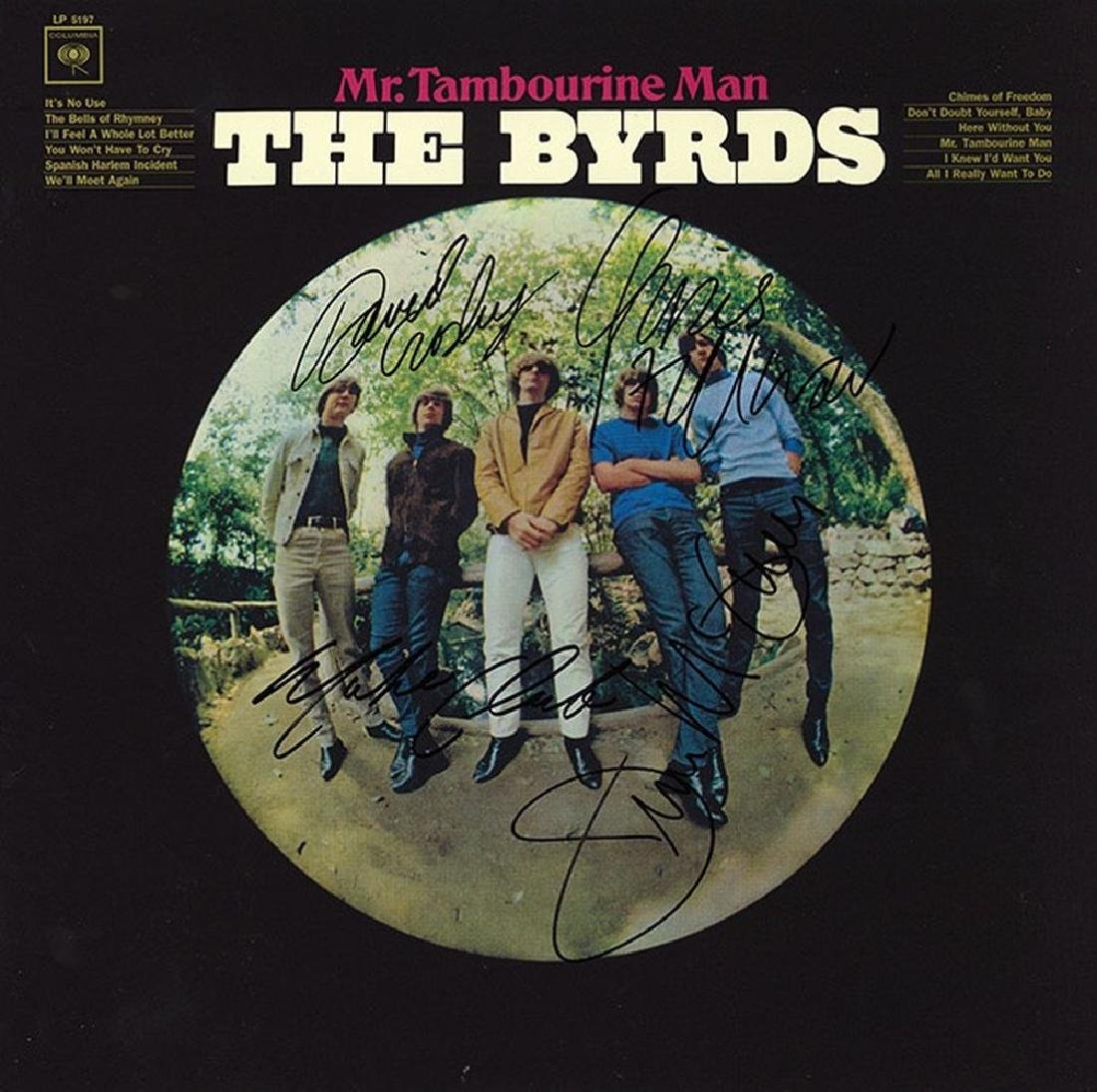 "The Byrds ""Mr. Tambourine Man"" Signed Album"