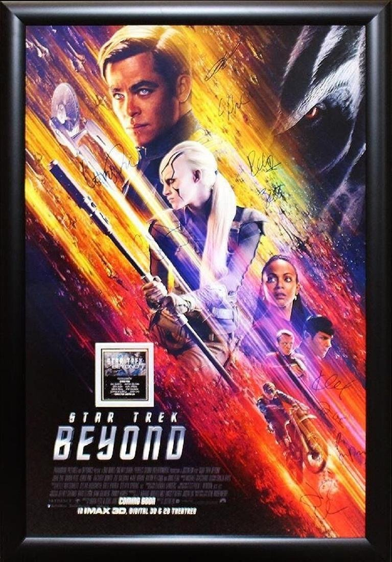 Star Trek: Beyond - Signed Movie Poster