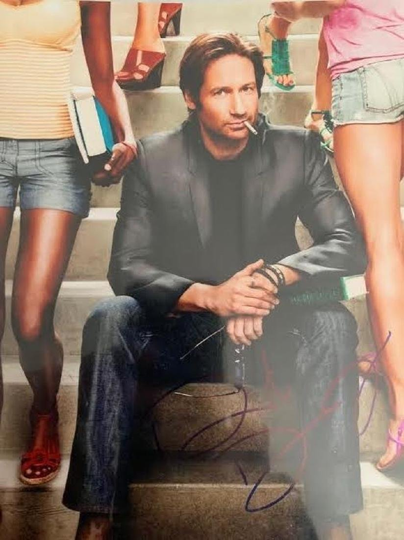 David Duchovny Signed Californication 8x10 Photo