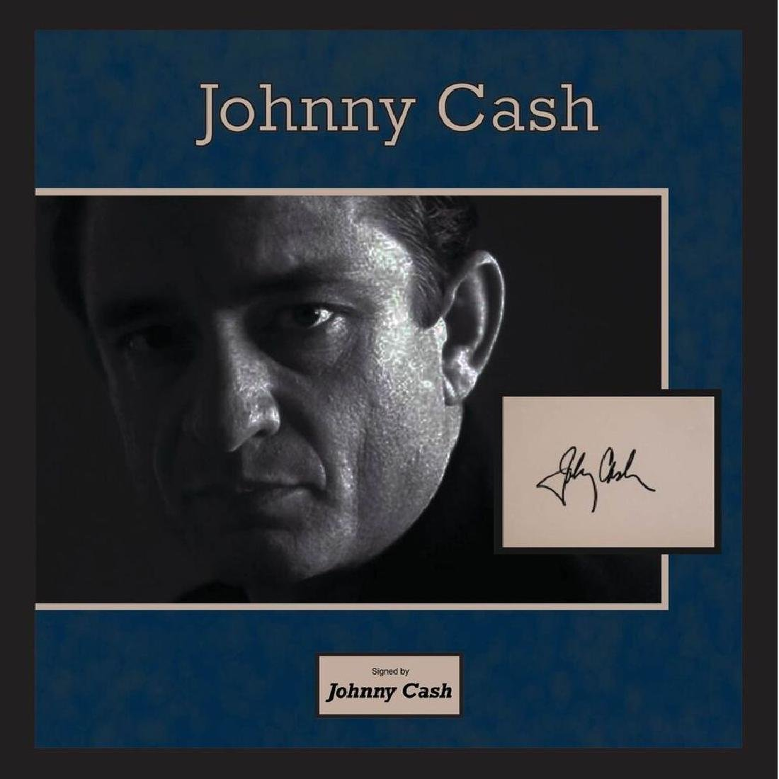 Johnny Cash Signature Cut