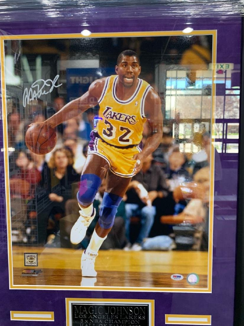 Lakers Magic Johnson Signed Photograph