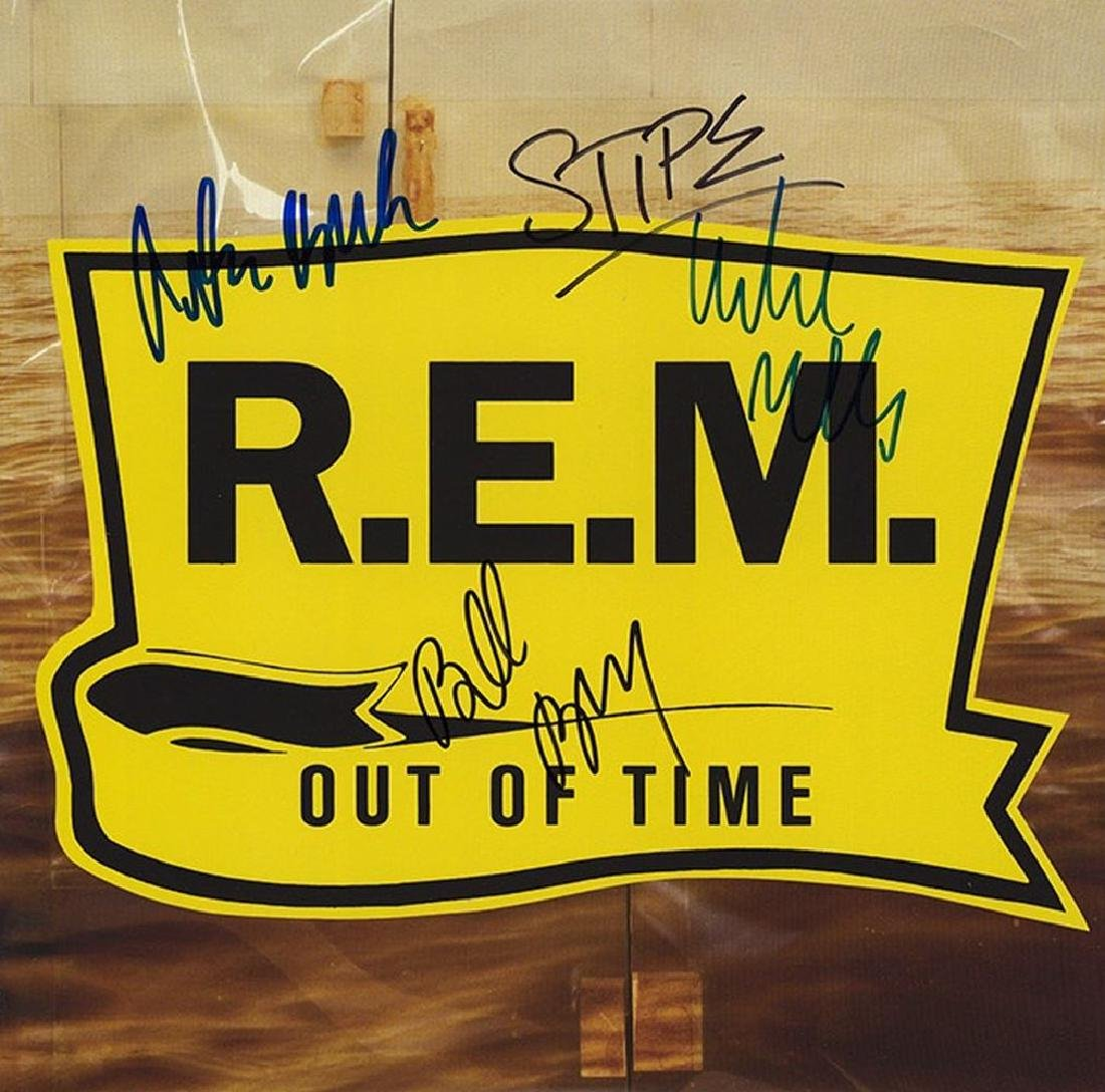 "R.E.M. ""Out Of Time"" Signed Album"