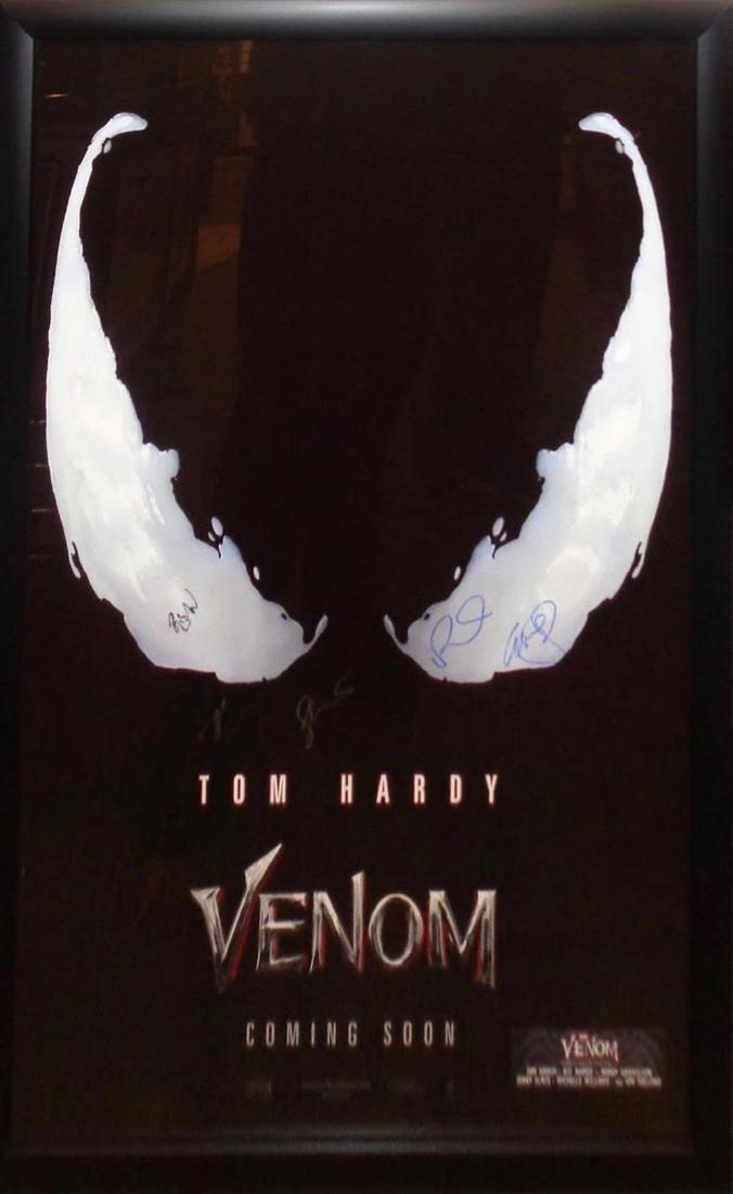 Venom Signed Movie Poster
