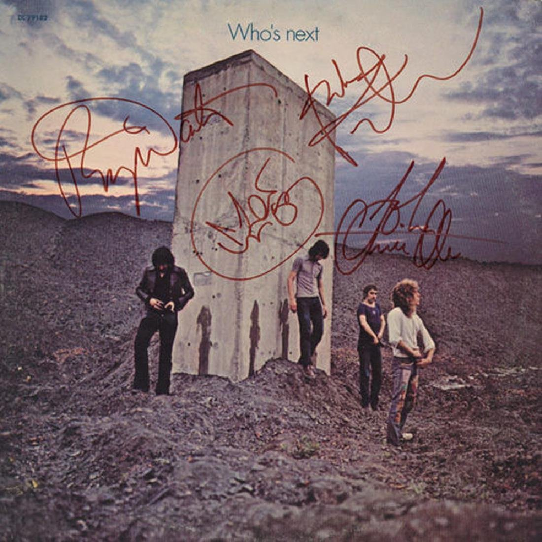 """The Who """"Who's Next"""" Signed Album"""