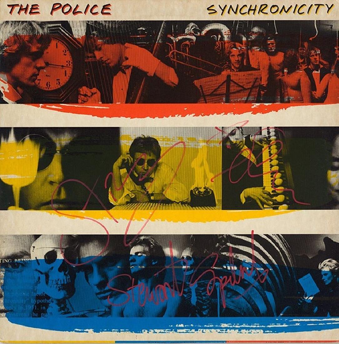 "Police ""Synchronicity"" Signed Album"
