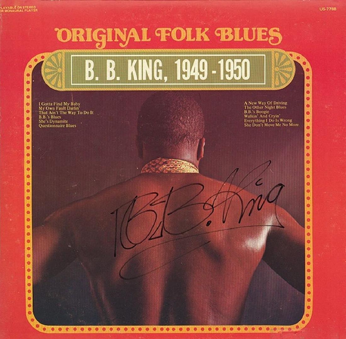 "B.B. King ""1949-1950"" Signed Album"