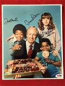PSA/DNA Different Strokes Cast Signed Photo