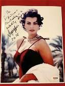 PSA/DNA Sophia Loren Signed 8x10 Color Photo