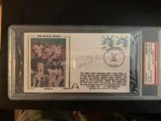 PSA/DNA Derek Jeter Signed 1996 FDC Envelope
