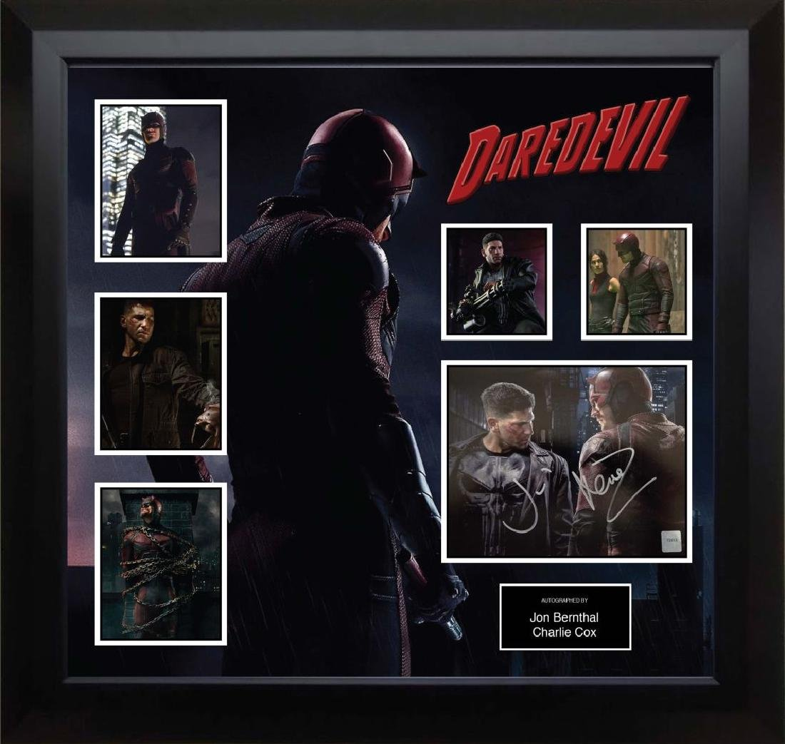 Daredevil Signed Photo Collage