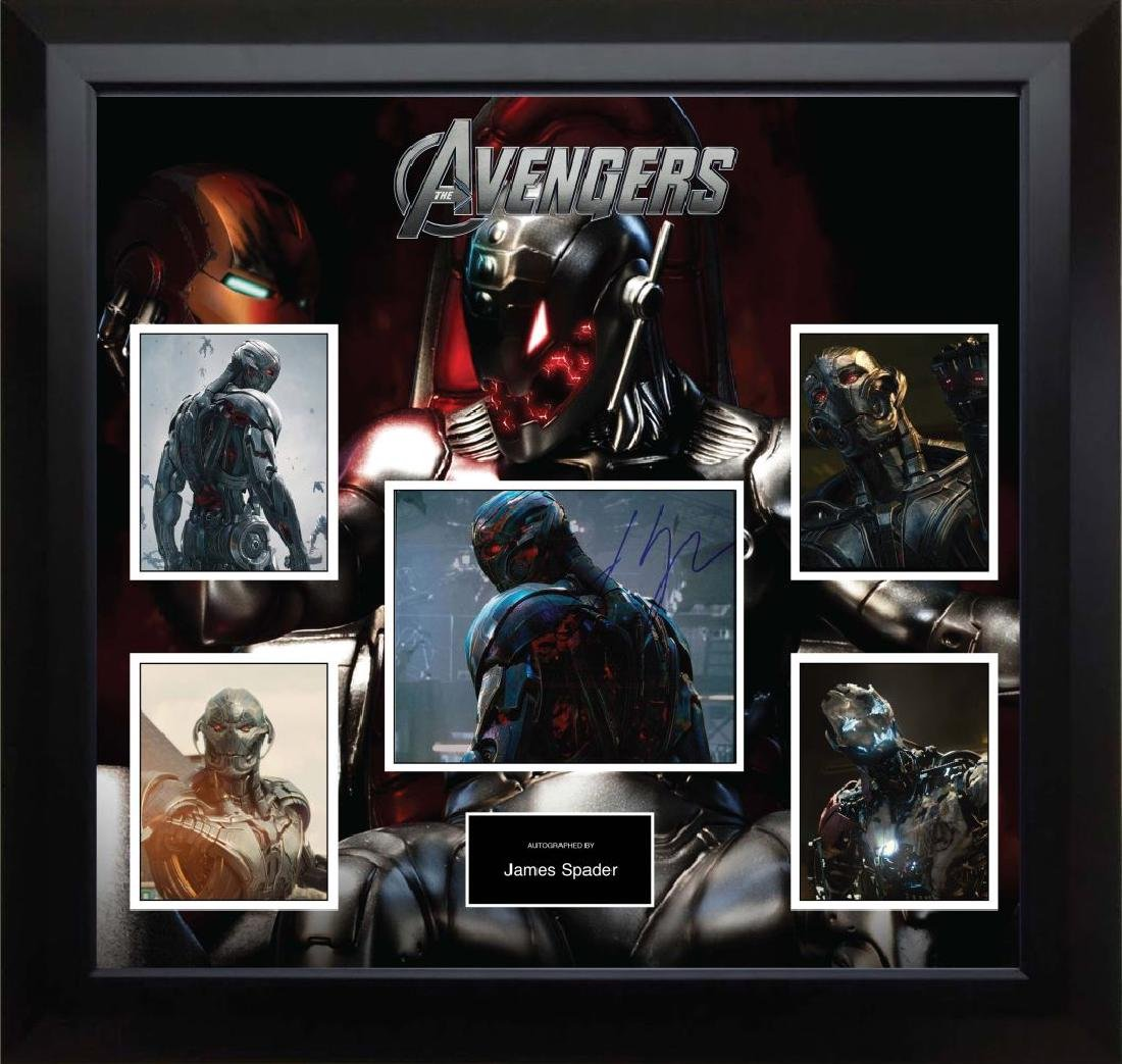 Ultron Signed Photo Collage