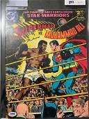 PSA/DNA Muhammad Ali Signed Ali Vs. Superman Comic