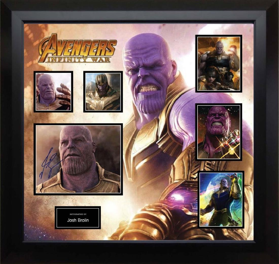 Thanos Signed Photo Collage