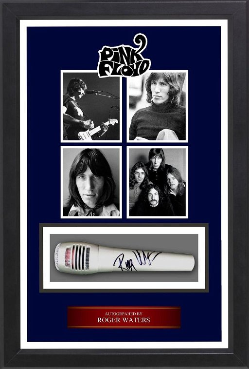 Roger Waters Signed Microphone