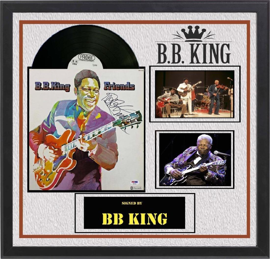 "BB King ""Friends"" signed Album"