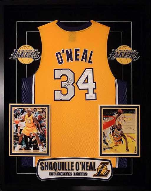 c45edc59ac9 Shaquille O Neal Signed Lakers Jersey. placeholder