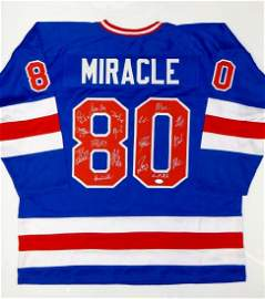 JSA Authenticated 1980 Miracle On Ice Team USA