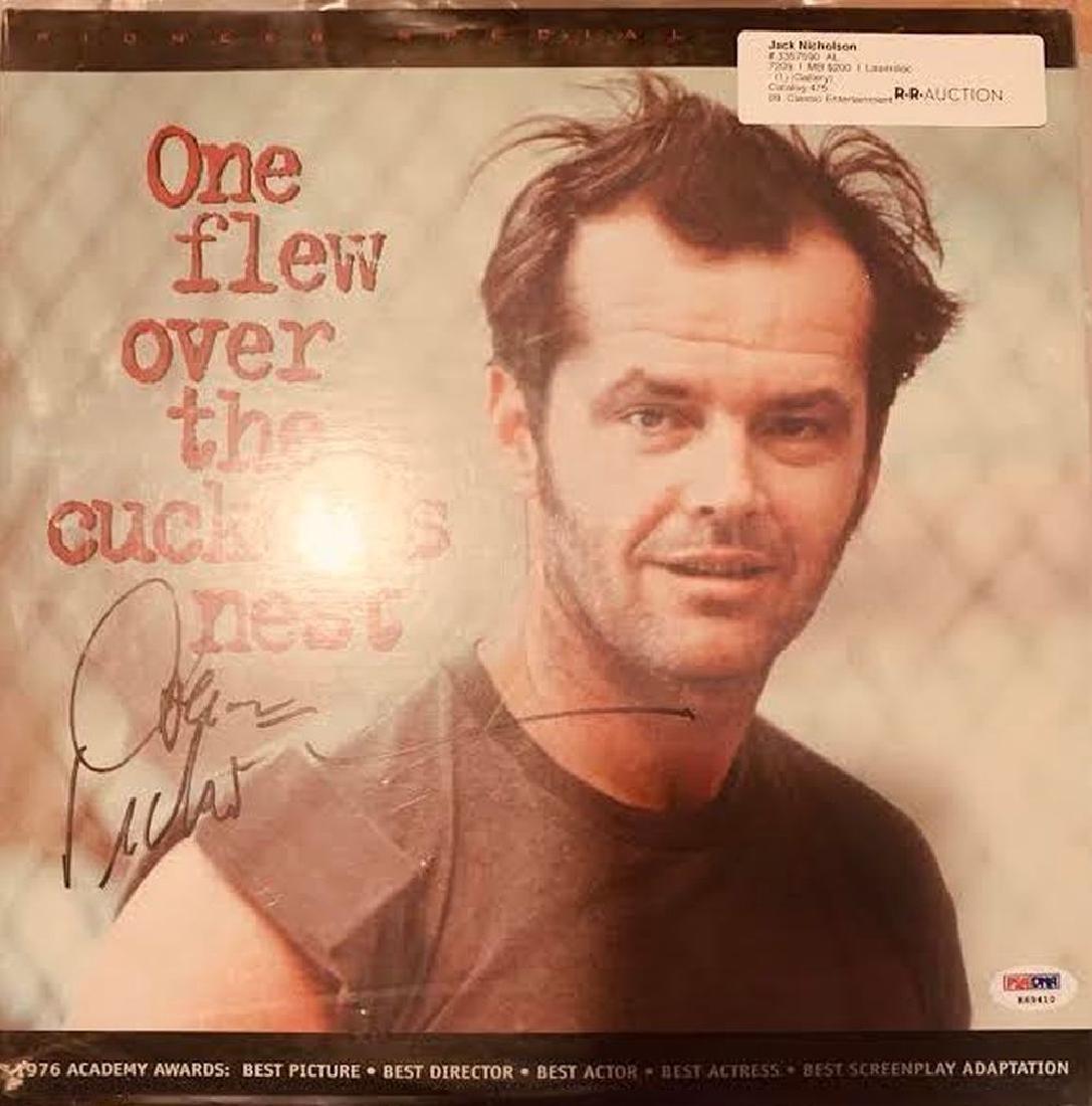 PSA Jack Nicholson Signed One Flew Over... Soundtrack